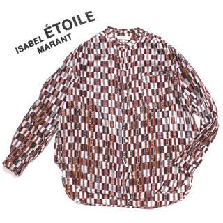 Isabel Marant - ISABEL MARANT ETOILE プリントシャツ ブラウス