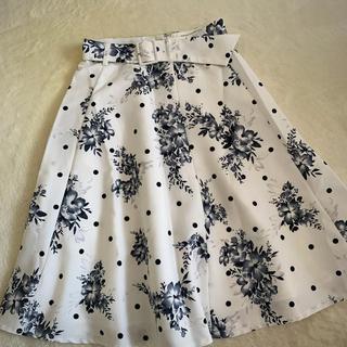 Rirandture - リラ 花柄ドットスカート
