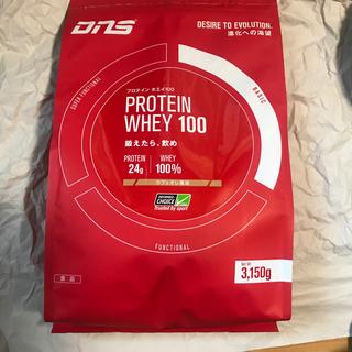 ディーエヌエス(DNS)の新品未開封 DNS プロテイン ホエイ 100 カフェオレ風味 3150g(プロテイン)