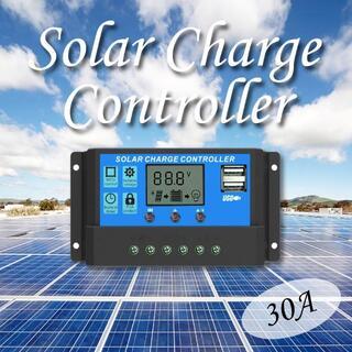 ソーラーパネル コントローラー 20A PWM 12V 24V 太陽光発電(その他)