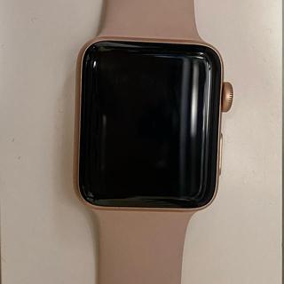アップルウォッチ(Apple Watch)のApple Watch series3.42mm(腕時計(デジタル))