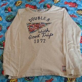 ダブルビー(DOUBLE.B)のダブルbロンT【140】(Tシャツ/カットソー)