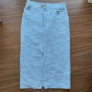 ZARA - Zara ツイードスカート