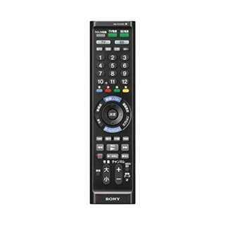 ブラックソニー SONY マルチリモコン RM-PZ130D テレビ/BDレコー(テレビ)