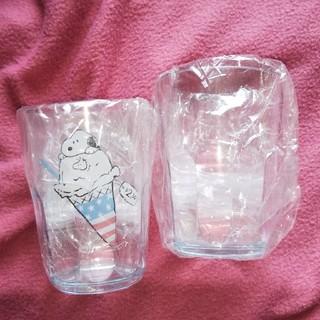 スヌーピー(SNOOPY)のスヌーピーの大きめプラスチックコップ(グラス/カップ)