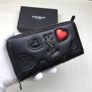 Yves Saint Laurent Beaute - 超人気✿。✿イヴサンローラン長財❤布 Y♪S♪L ファスナー 新品