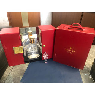 バカラ(Baccarat)のレミーマルタン ルイ13世 バカラ空ビン 特別マグネットBOX付き(ブランデー)
