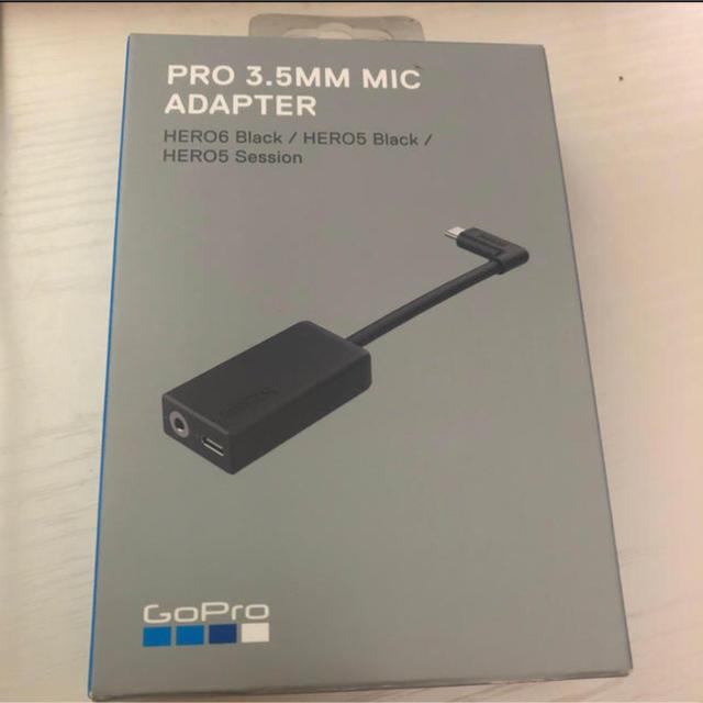 GoPro(ゴープロ)のGoPro プロ3.5mmマイクアダプター AAMIC-001 スマホ/家電/カメラのカメラ(ビデオカメラ)の商品写真