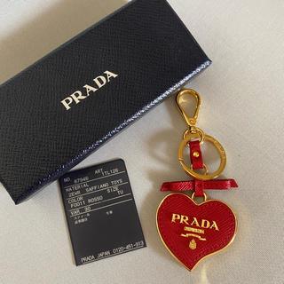 PRADA - PRADA キーリング 赤