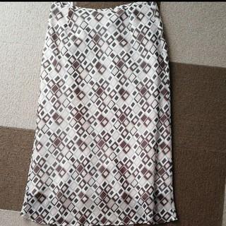 ヨンドシー(4℃)の4℃タイトスカート(ひざ丈スカート)