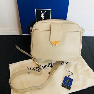 Saint Laurent - 美品 保存袋・タグ・箱付きイヴサンローラン ビンテージ ショルダー