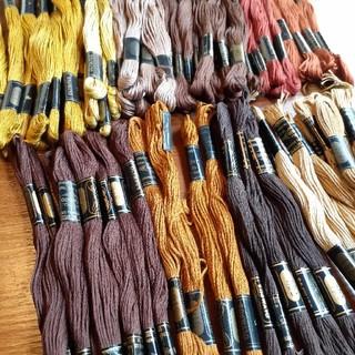 オリンパス(OLYMPUS)のOLYMPUS刺繍糸 60本(生地/糸)