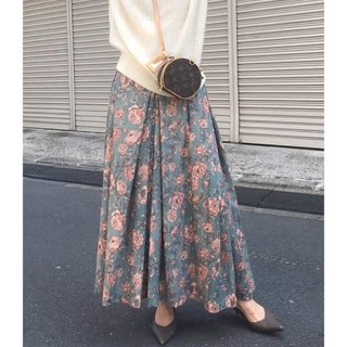 アメリヴィンテージ(Ameri VINTAGE)のアメリヴィンテージ 花柄スカート(ロングスカート)