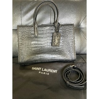 Saint Laurent - SAINT LAURENT ブラック トートバッグ