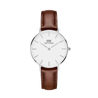 ダニエルウェリントン(Daniel Wellington)の【32㎜】ダニエル ウェリントン腕時計DW00100187〈3年保証付〉シルバー(腕時計)