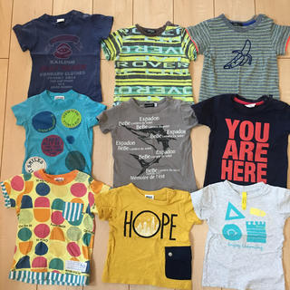 幼児 男の子 半袖Tシャツ 90センチ 11枚