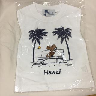 PEANUTS - 90 希少 新品 ハワイ限定 日焼けスヌーピー Tシャツマキさんデザイン