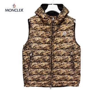 MONCLER - MONCLER カモフラージュ柄 ダウンベスト size 1