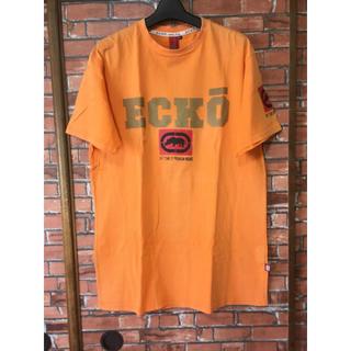 エコーアンリミテッド(ECKO UNLTD)のエコーアンリミテッド ECKO UNLTD Tシャツ メンズ XL オレンジ(Tシャツ/カットソー(半袖/袖なし))