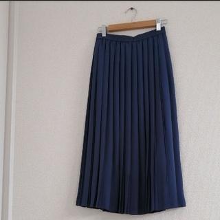 UNIQLO - UNIQLO ロングプリーツスカート