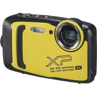 FUJIFILM 防水カメラ XP140 イエロー FX-XP140Y(コンパクトデジタルカメラ)