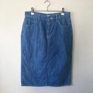 スタディオクリップ(STUDIO CLIP)のデニムスカート(ひざ丈スカート)