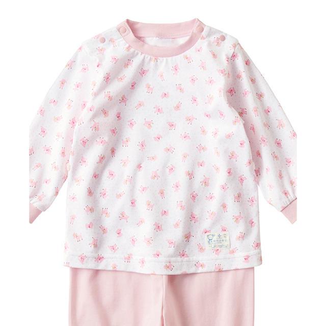 familiar(ファミリア)のfamiliar パジャマ 女の子 キッズ/ベビー/マタニティのベビー服(~85cm)(パジャマ)の商品写真