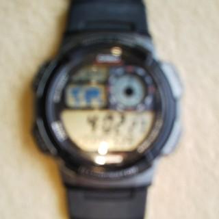 カシオ(CASIO)のCASIOデジタルワールドタイム腕時計(腕時計(デジタル))