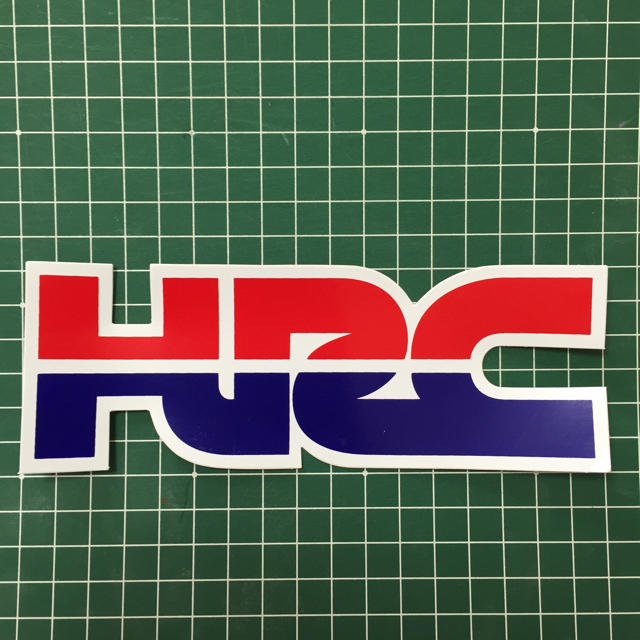 HRC ステッカー 自動車/バイクのバイク(ステッカー)の商品写真