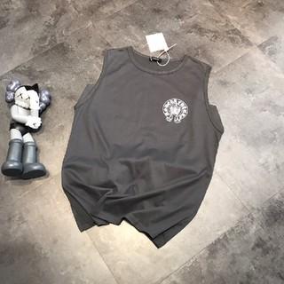 クロムハーツ(Chrome Hearts)のChrome Hearts クロムハーツ 袖なし tシャツ(Tシャツ/カットソー(半袖/袖なし))