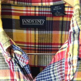 ランズエンド(LANDS'END)の【LANDS'END 】ランズエンドボタンダウン半袖シャツ(シャツ)