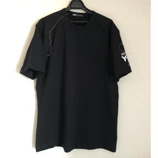 Y-3 - 【未使用】18-19AW Y-3 刺し子 ロゴTシャツ ワイスリー yohji