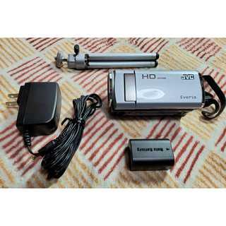 Victor JVC  デジタルビデオカメラ シルバー GZ-HM280(ビデオカメラ)