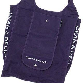 ディーンアンドデルーカ(DEAN & DELUCA)の京都限定!!DEAN & DELUCA ショッピングバッグ パープル(その他)