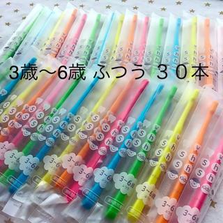 子供歯ブラシ 3歳〜6歳 ふつう 30本 歯科専売