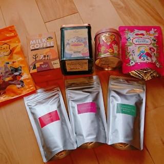 紅茶&ミルクコーヒーセット(茶)