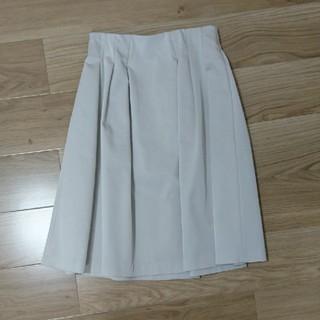 ストロベリーフィールズ(STRAWBERRY-FIELDS)のストロベリーフィールズ スカート 白(ひざ丈スカート)