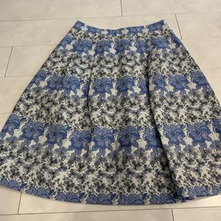 オールドイングランド(OLD ENGLAND)の新品OEジャガードスカート(ひざ丈スカート)