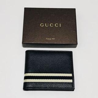 グッチ(Gucci)の新品★グッチ★GUCCI★二つ折り財布★ウォレット★メンズ(折り財布)