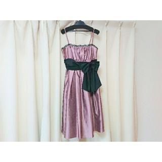 AIMER - AIMER エメ ドレス サイズ 38 ピンク