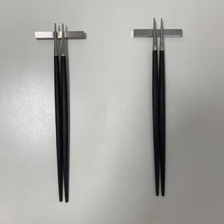 Cutipol 箸×箸置きセット 2個セット(カトラリー/箸)
