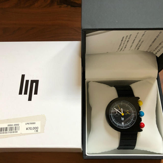 ビームス(BEAMS)のlip 腕時計 メンズ 極美品 送料込み  Mach Chronograph (腕時計(アナログ))