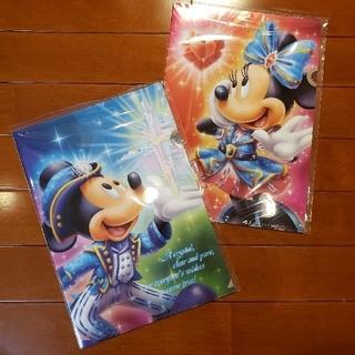 ディズニー(Disney)の15周年⭐クリアファイル(クリアファイル)