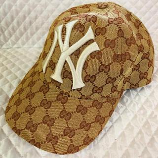 グッチ(Gucci)のGUCCIニューヨーク・ヤンキース(キャップ)