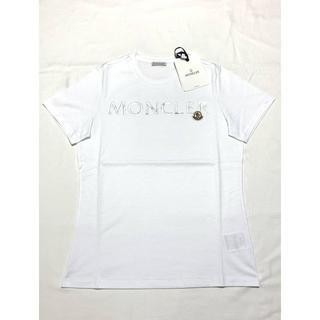 MONCLER - 新品 SS20 モンクレール ロゴ ワッペン Tシャツ ホワイト