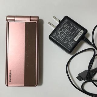 パナソニック(Panasonic)のdocomo FOMAガラケー P-01E ピンク(携帯電話本体)