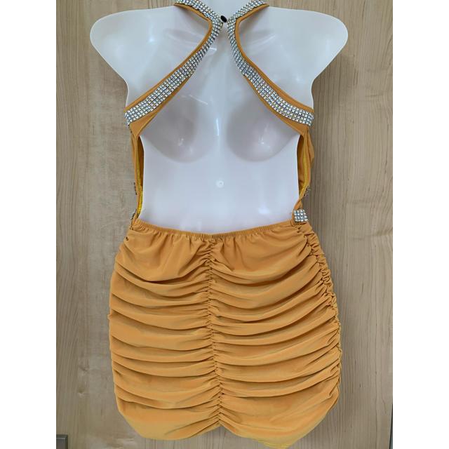 キャバドレス セクシー M-L レディースのフォーマル/ドレス(ミニドレス)の商品写真