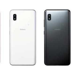 ギャラクシー(Galaxy)のGALAXY A20 ブラック ホワイト(スマートフォン本体)