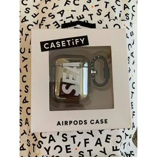 シー(SEA)のCASETIFY × WIND AND SEA  Airpods CASE(iPhoneケース)