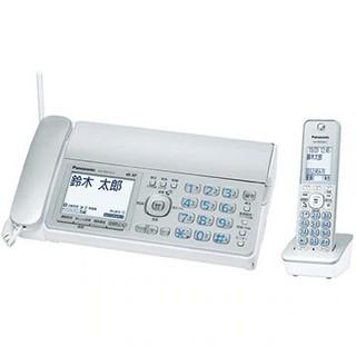 パナソニック(Panasonic)のデジタルコードレス普通紙FAX(子機1台)(シルバー) KX-PD315DL-S(その他)